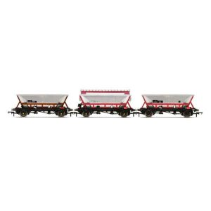 Hornby R6963 46T Hopper Wagon Pack National Wagon Preservation Group