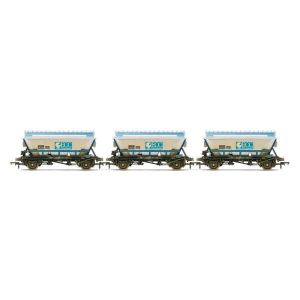 Hornby R6964 46T CDA Hopper Wagon Pack English China Clay