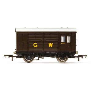Hornby R6972 N13 Horse Box GWR Brown