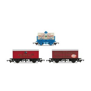 Hornby R6991 Hornby 'Retro' Wagon Pack Jacob's / United Dairies / Palethorpes