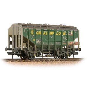 Bachmann 33-132 35T PAA Bulk Grain Hopper 'Grainflow' Green Weathered