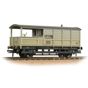 Bachmann 33-308A 20T Toad Brake Van BR Grey Early Weathered
