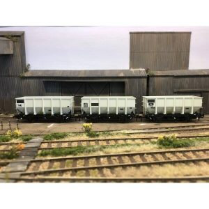 Accurascale ACC1017 HUO 24.5T Coal Hopper BR Grey TOPS Pack K