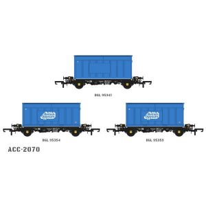 Accurascale ACC2070 PFA 2 Axle Container Wagon British Gypsum Pack I