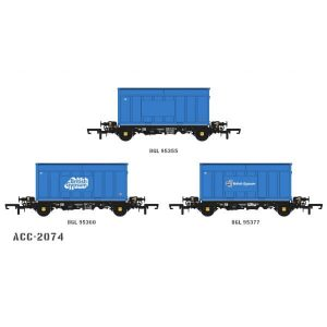 Accurascale ACC2074 PFA 2 Axle Container Wagon British Gypsum Pack M