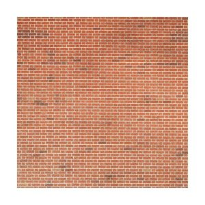 Metcalfe Models PN100 N Gauge Red Brick Sheets