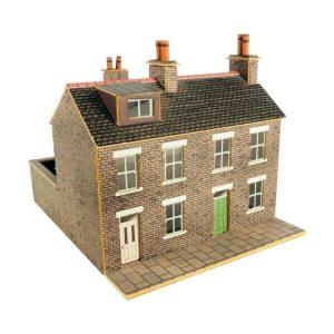 Metcalfe Models PN104 N Gauge Terraced Houses in Stone