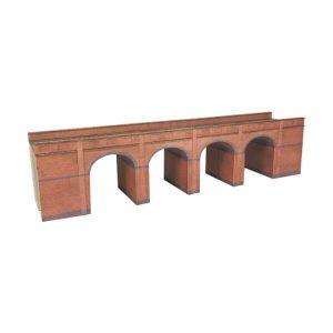 Metcalfe Models PN140 N Gauge Red Brick Viaduct