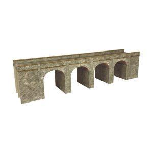 Metcalfe Models PN141 N Gauge Stone Viaduct