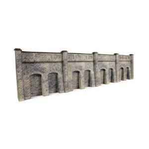 Metcalfe Models PN144 N Gauge Retaining Wall in Stone