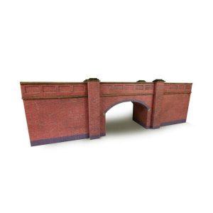 Metcalfe Models PN146 N Gauge Railway Bridge in Red Brick