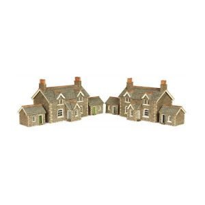 Metcalfe Models PN155 N Gauge Workers Cottages