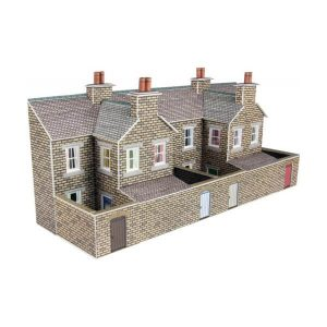 Metcalfe Models PN177 N Gauge Low Relief Stone Terraced House Backs