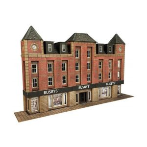 Metcalfe Models PN179 N Gauge Low Relief Department Store