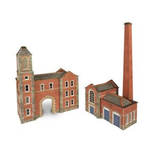 Metcalfe Models PN184 N Gauge Boilerhouse & Factory Entrance