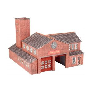 Metcalfe Models PN189 N Gauge Fire Station