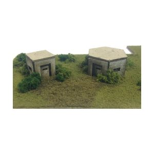 Metcalfe Models PN820 N Gauge Type 22 & 26 Pillbox