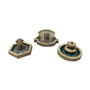 Metcalfe Models PN823 N Gauge Stone Fountain Set