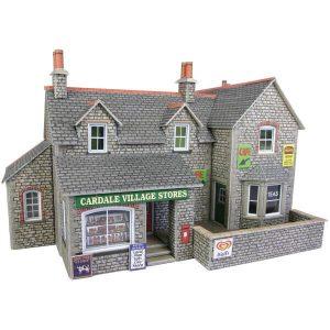 Metcalfe Models PO254 OO/HO Scale Village Shop & Cafe