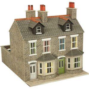 Metcalfe Models PO262 OO/HO Scale Terraced Houses in Stone