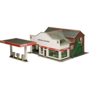 Metcalfe Models PO281 OO/HO Scale Service Station