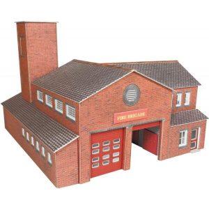 Metcalfe Models PO289 OO/HO Scale Fire Station