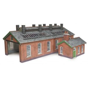 Metcalfe Models PO313 OO/HO Scale Double Track Engine Shed