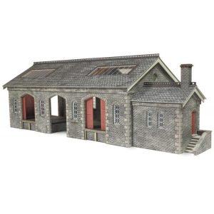 Metcalfe Models PO336 OO/HO Scale Settle & Carlisle Railway Goods Shed