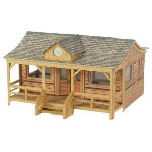 Metcalfe Models PO410 OO/HO Scale Wooden Pavilion