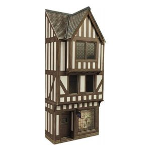 Metcalfe Models PO421 OO/HO Scale Low Relief Timber Framed Shop