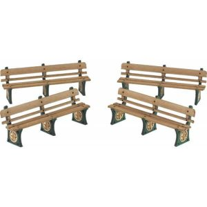 Metcalfe Models PO501 OO/HO Scale GWR Benches