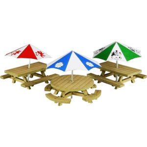 Metcalfe Models PO510 OO/HO Scale Picnic Tables