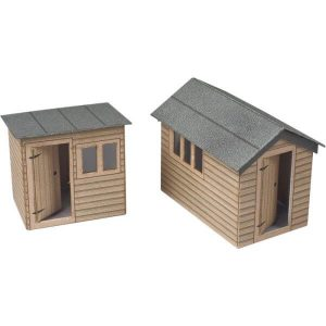 Metcalfe Models PO512 OO/HO Scale Garden Sheds