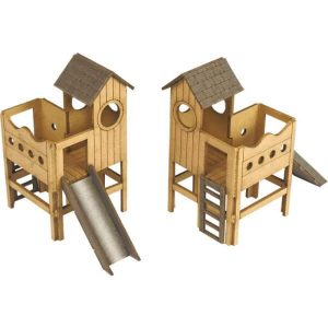 Metcalfe Models PO513 OO/HO Scale Childrens Play Area