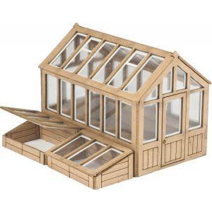Metcalfe Models PO514 OO/HO Scale Greenhouse