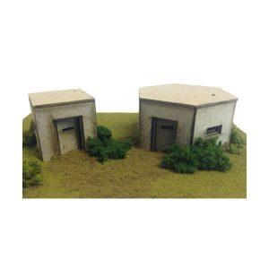 Metcalfe Models PO520 OO/HO Scale Type 22 & 26 Pillbox