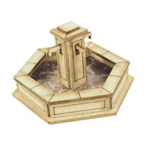 Metcalfe Models PO522 OO/HO Scale Stone Fountain