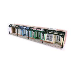 Metcalfe Models PO572 OO/HO Scale Arcade Shops