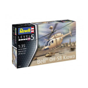 Revell 03871 Bell OH-58D Kiowa 1/35 Scale