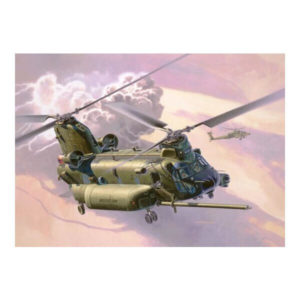 Revell 03876 Boeing MH-47E Chinook 1/72 Scale