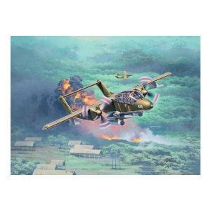 Revell 03909 Rockwell OV-10A Bronco 1/72 Scale