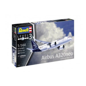 """Revell 03942 Airbus A320 Neo Lufthansa """"New Livery"""" 1/144 Scale"""