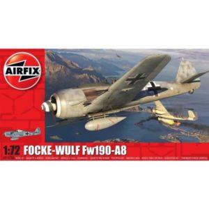 Airfix A01020A Focke Wulf FW190-A8 1/72 Scale