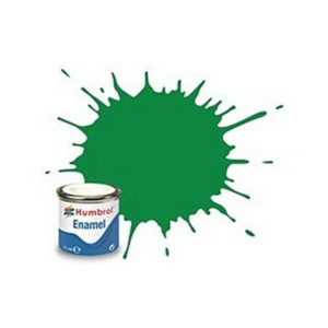 Humbrol 2 Gloss Emerald Green 14ml Enamel Tinlet