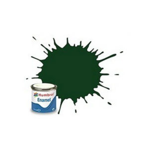Humbrol 3 Gloss Brunswick Green 14ml Enamel Tinlet