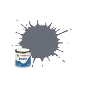 Humbrol 5 Gloss Dark Admiralty Grey 14ml Enamel Tinlet