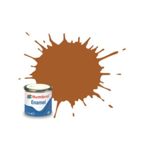Humbrol 9 Gloss Tan 14ml Enamel Tinlet