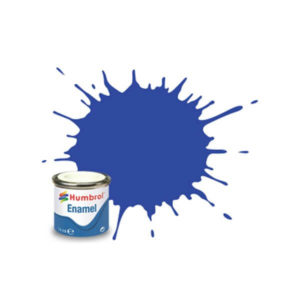 Humbrol 14 Gloss French Blue 14ml Enamel Tinlet