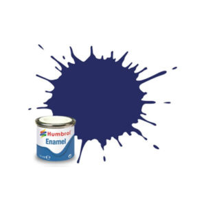 Humbrol 15 Gloss Midnight Blue 14ml Enamel Tinlet