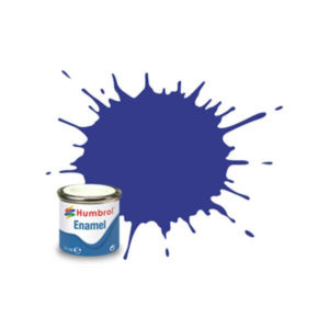 Humbrol 25 Matt Blue 14ml Enamel Tinlet